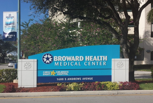 Broward_Health_Medical_Center_Entrance